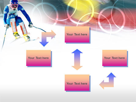 Winter Olympic Games PowerPoint Template, Slide 4, 00776, Sports — PoweredTemplate.com