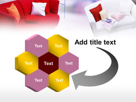 Red Sofa PowerPoint Template Slide 11