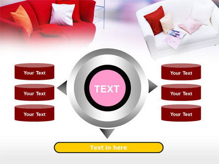 Red Sofa PowerPoint Template Slide 12
