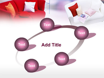 Red Sofa PowerPoint Template Slide 14