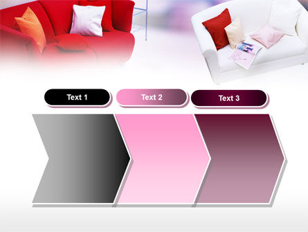 Red Sofa PowerPoint Template Slide 16