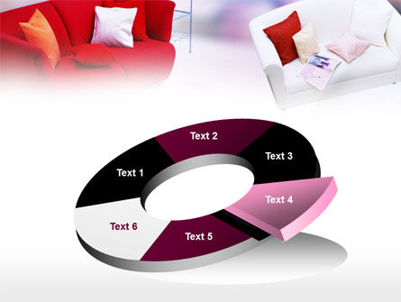 Red Sofa PowerPoint Template Slide 19