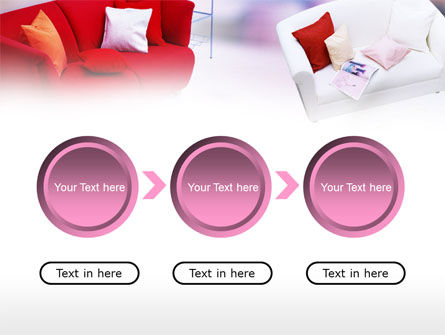 Red Sofa PowerPoint Template Slide 5