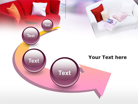 Red Sofa PowerPoint Template Slide 6