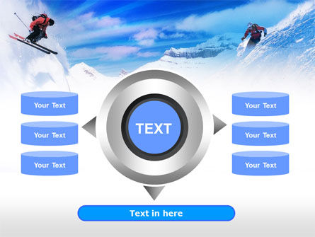 Ski Slope PowerPoint Template Slide 12