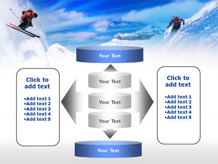 Ski Slope PowerPoint Template Slide 13
