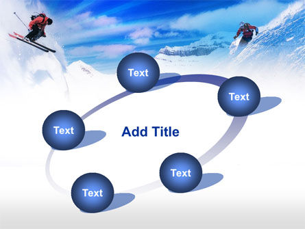 Ski Slope PowerPoint Template Slide 14