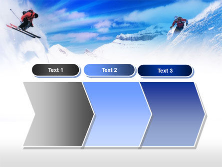 Ski Slope PowerPoint Template Slide 16