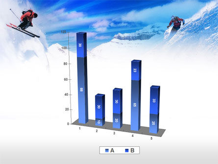 Ski Slope PowerPoint Template Slide 17