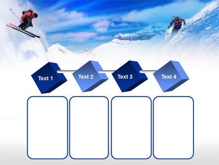Ski Slope PowerPoint Template Slide 18