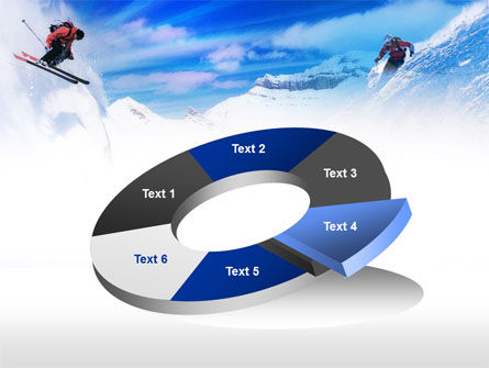 Ski Slope PowerPoint Template Slide 19