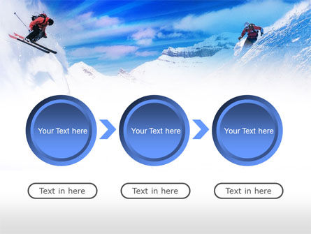 Ski Slope PowerPoint Template Slide 5