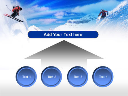Ski Slope PowerPoint Template Slide 8