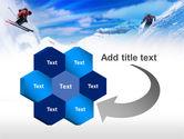 Ski Slope PowerPoint Template#11