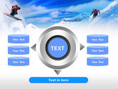 Ski Slope PowerPoint Template#12