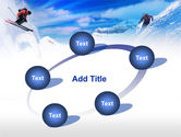 Ski Slope PowerPoint Template#14