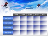 Ski Slope PowerPoint Template#15