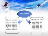 Ski Slope PowerPoint Template#4