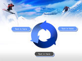 Ski Slope PowerPoint Template#9