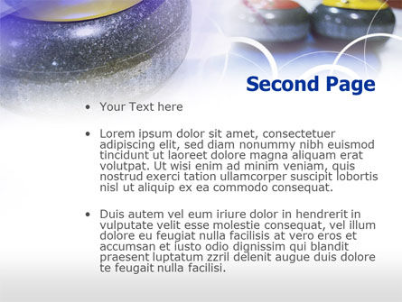 Curling PowerPoint Template, Slide 2, 00789, Sports — PoweredTemplate.com