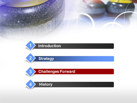 Curling PowerPoint Template, Slide 3, 00789, Sports — PoweredTemplate.com