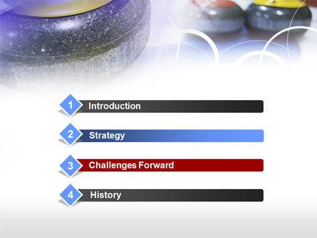 Curling PowerPoint Template Slide 3