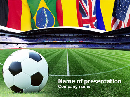 FIFA World Cup PowerPoint Template, 00790, Sports — PoweredTemplate.com