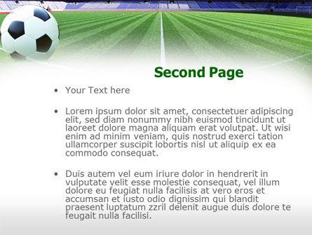 FIFA World Cup PowerPoint Template, Slide 2, 00790, Sports — PoweredTemplate.com