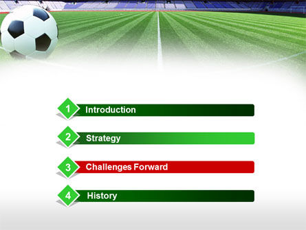 FIFA World Cup PowerPoint Template Slide 3