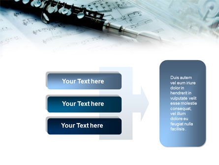 Flute PowerPoint Template Slide 11