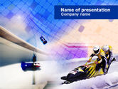 Bobsled PowerPoint Template#1