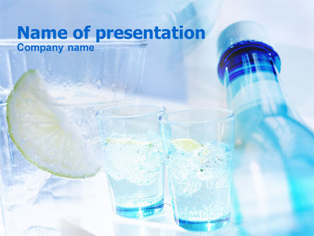 Food & Beverage: Refreshments PowerPoint Template #00799