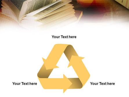 Open Book PowerPoint Template Slide 10