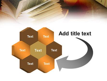 Open Book PowerPoint Template Slide 11