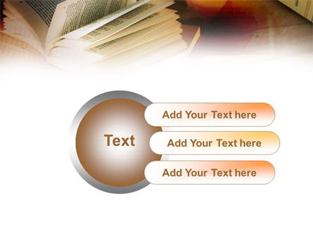 Open Book PowerPoint Template Slide 12