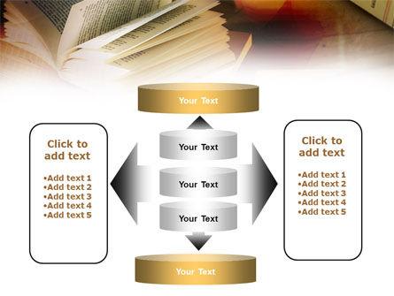 Open Book PowerPoint Template Slide 13