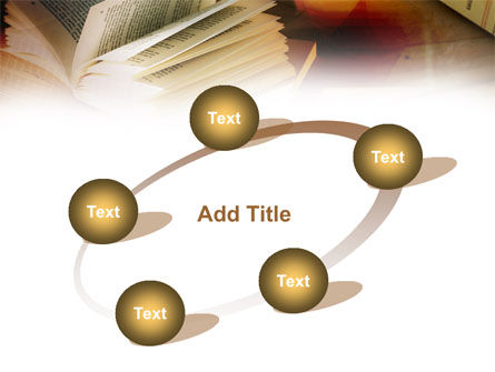 Open Book PowerPoint Template Slide 14