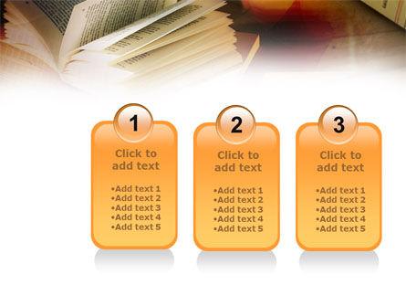 Open Book PowerPoint Template Slide 16