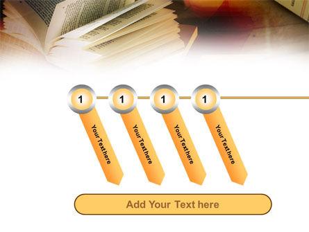 Open Book PowerPoint Template Slide 18