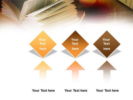 Open Book PowerPoint Template Slide 5