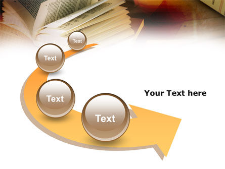 Open Book PowerPoint Template Slide 6
