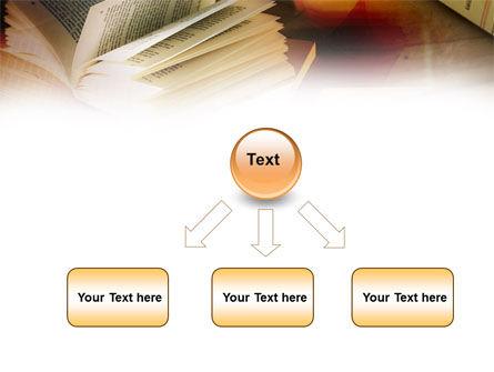 Open Book PowerPoint Template Slide 8