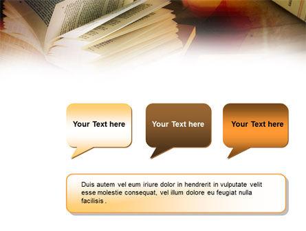 Open Book PowerPoint Template Slide 9