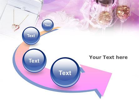 Free Romantic Dinner PowerPoint Template Slide 6