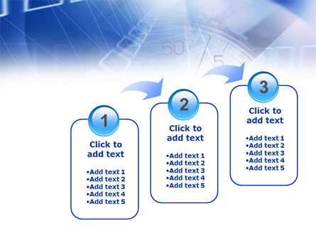 Blue Timer Theme PowerPoint Template Slide 14
