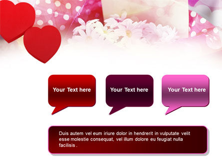 Love Gifts PowerPoint Template Slide 9