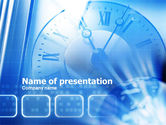Wall Clock PowerPoint Template#1
