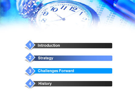 Pocket Watch PowerPoint Template, Slide 3, 00814, Business — PoweredTemplate.com