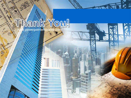Urban Construction PowerPoint Template Slide 20