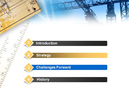 Urban Construction PowerPoint Template Slide 3
